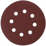 PACK 10 LIJAS DISCO 125MM 8 AGUJ GR 60 VELCRO