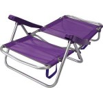 SILLON PLAYA RESPAL.PLEGABLE LILA