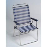 SILLON PLAYA DIRECT.RESP.ALTO AZUL-BLAN