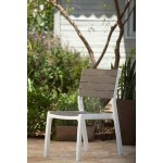 SILLA HARMONY SET BLANCO / CAPUCHINO