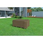 FUNDA MESA RECTANG. + 4 SILLAS 225X145 H.90 VISON